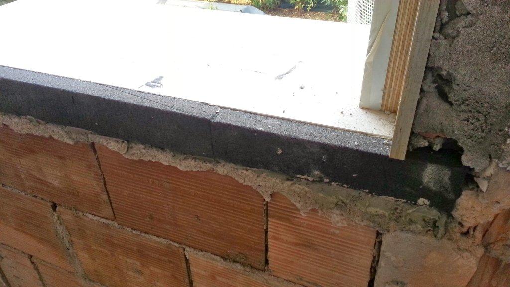 Bancali finestra posa con isolamento una casa da ristrutturare - Ponte termico finestra ...