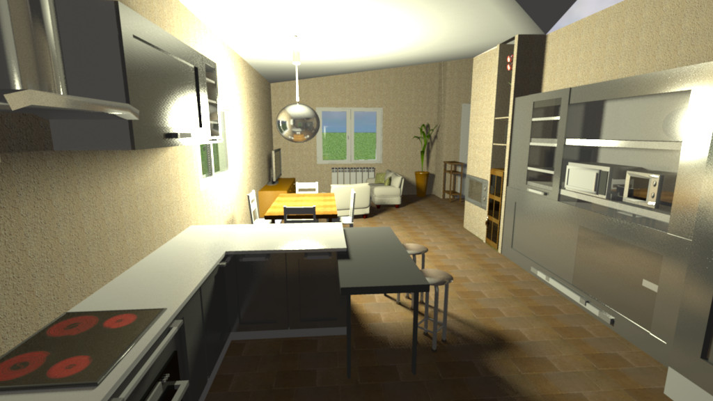 Sweet home 3d una casa da ristrutturare for Sweet home 3d arredamento