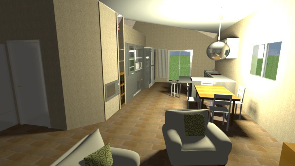 Prime idee di soggiorno e cucina… - UNA CASA DA RISTRUTTURARE